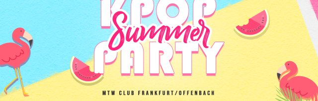 Frankfurt am Main: Kpop & Khiphop Party x KEvents