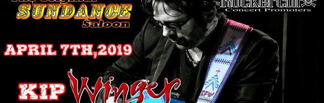 Kip Winger Live and Unplugged with special guest Sunset Stripped