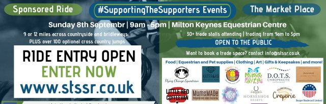 #SupportingTheSupporters Sponsored Ride