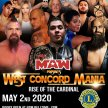 "MAW Presents West Concord Mania ""Rise of the Cardinal"" image"