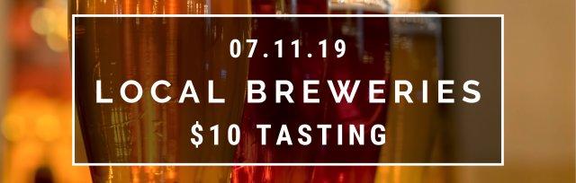 $10 Tasting - Local Breweries