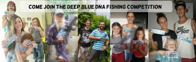 The Deep Blue DNA Fishing Competition