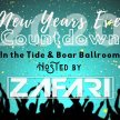 New Years Countdown 2020 with ZAFARI In The Tide and Boar Ballroom image