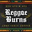 Reggae Burns Supper image