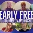 NEARLY FREE Intro to Improv Workshop image