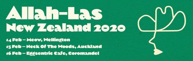 Allah-Las (USA): New Zealand 2020