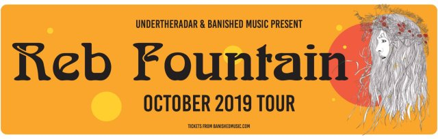 Reb Fountain - October Tour 2019