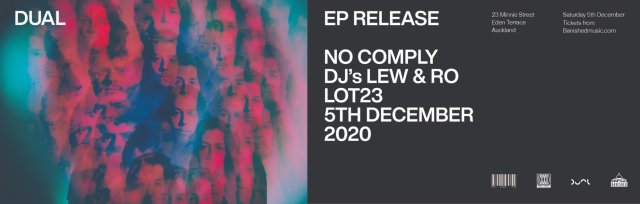 DUAL - EP release show with No Comply and DJs Lew & Ro