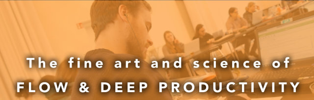 Deep Work Program: 4 Mondays to Practice the Art of Higher-Focus, Almost Effortless Productivity, By Doing Your Own Work