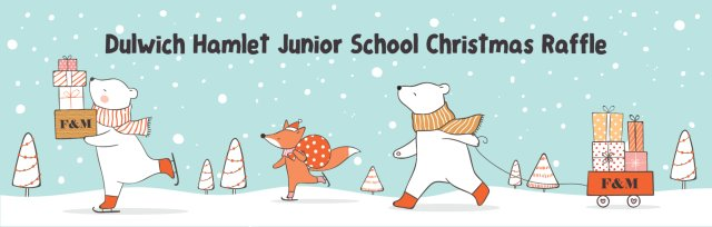 Christmas Raffle for the Dulwich Hamlet Junior School