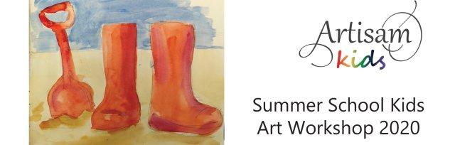 Summer School Kids Art Workshop