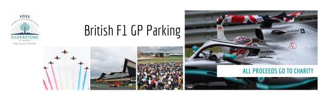 British F1 GP Parking
