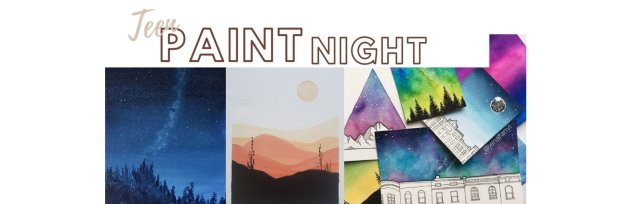 Teen Paint Night Series