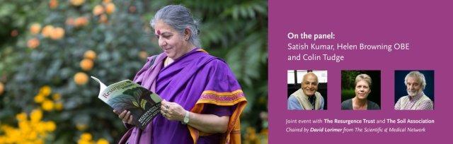 'Regenerating Soil, Regenerating Health' with Vandana Shiva