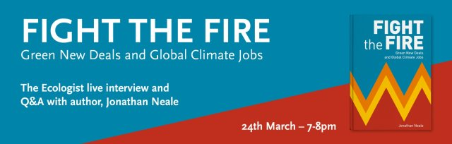 Green New Deals and Global Climate Jobs with author, Jonathan Neale