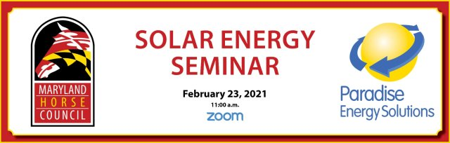 MHC Solar Panel Seminar