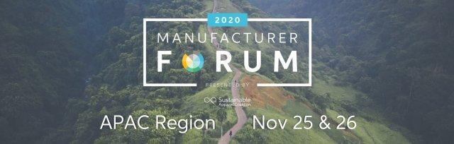 Virtual Higg Index Manufacturer Forum - APAC