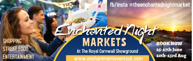 The Enchanted Night Markets August 2021