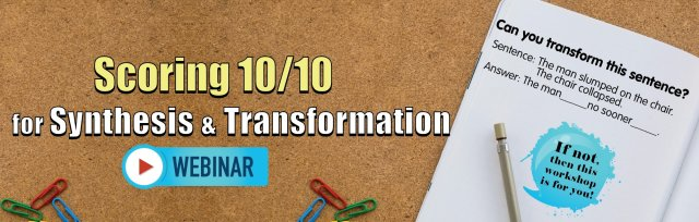 Scoring 10/10 for Synthesis & Transformation [Non-MS]