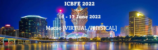 International Conference on Business, Finance and Economics 2022