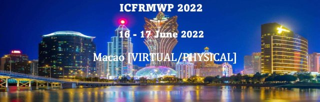 International Conference on Flood Risk Management and Water Pollution 2022