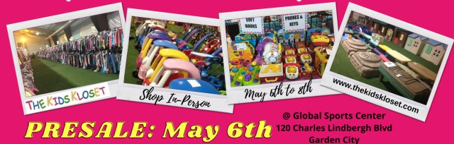 The Kids Kloset In-Person Spring/Summer Pop Up Pre-sale