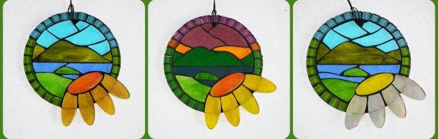 Summer Mosaic Suncatchers with Yvette Green - £74