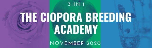 The CIOPORA Breeding Academy Webinar Savings Package, November 2020