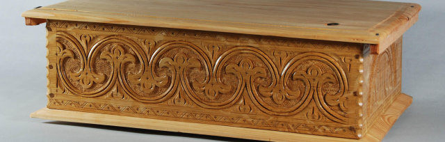 Make a Carved Oak Box with Peter Follansbee