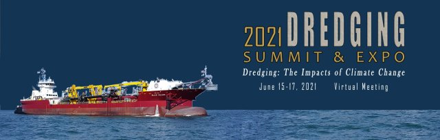 2021 WEDA Virtual Dredging Summit                         -                         June 15-17, from 1 to 5 PM EST daily
