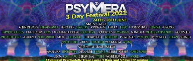 PSYMERA Festival Weekender