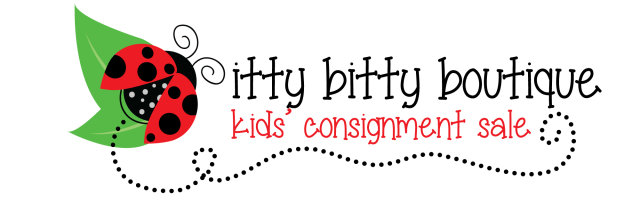 itty bitty Kids' Sale EARLY BIRD PRE-SALE - March 12th 10am-8pm