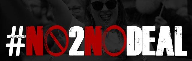 No To No Deal Virtual Rally