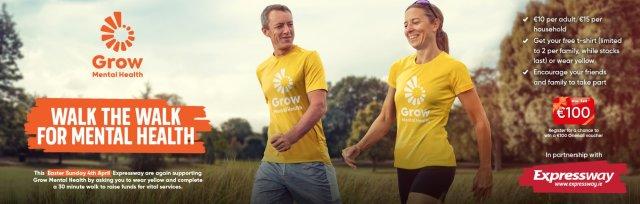 VIRTUAL #YELLOWWALK for Grow Mental Health ON EASTER SUNDAY