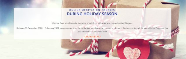 Online Holiday Events on demand