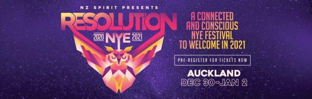 Resolution NYE Festival 2020/21