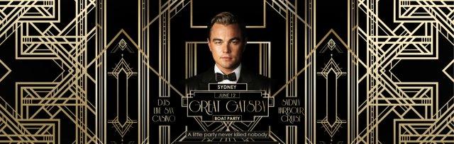 Great Gatsby Boat Party - Sydney June (Long Weekend)
