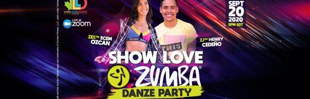 ZUMBA® LIVESTREAM | SHOW LOVE DANZE PARTY