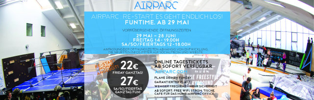 AIRPARC STUBAI TAGESTICKET - AIRPARC RE:START ANGEBOT
