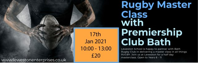 Rugby Master Class with Bath Rugby