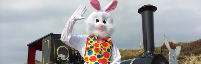 Easter Bunny Trains and the FREE Easter Egg Hunt
