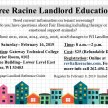 Racine Landlord Education Seminar image