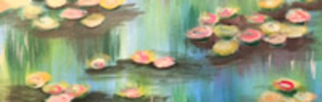 Paint & Sip!Monet Waterlillies at 7pm $35