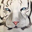 Paint & Sip! Tiger at 7pm $25 image