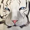 Paint & Sip! Wnite Tiger at 7pm $35 image