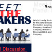 Meet the Makers Panel Discussion - Presenter: Brad Dowdy image
