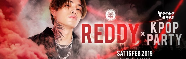Reddy x K-Pop Party by Young Bros in London