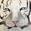 Paint & Sip! White Tiger at 2pm $29 UPLAND image