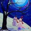 "Fun Art Night: ""Colorful Winters Eve"" in Ruckersville image"