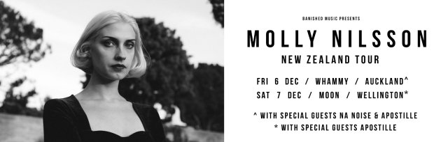 Molly Nilsson - NZ Tour